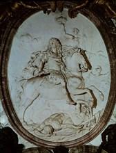 Coysevox, Victoire de Louis XIV sur les ennemis de la France
