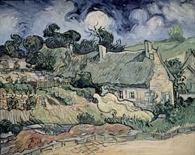 Van Gogh, Chaumes de Cordeville à Auvers-sur-Oise