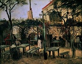 Van Gogh, Guinguette à Montmartre