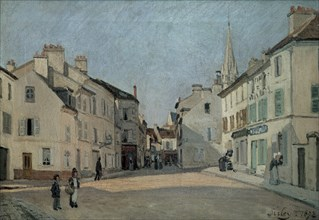 Sisley, Rue de la Chaussée à Argenteuil