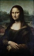 LEONARDO DA VINCI. Mona Lisa - ca. 1503/06 - 77x53 cm - oil on panel - Italian Renaissance