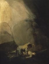 Goya, Brigand assassinant une femme ou Attaque des Brigands III