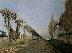 Sisley, Chemin de la Machine, Louveciennes