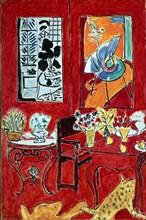 "Matisse, ""Grand intérieur rouge"""
