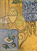 "Matisse, ""Intérieur jaune et bleu"""