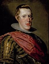 Vélasquez, Portrait de Philippe IV en cuirasse