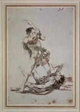 Goya, La morte d'Abel