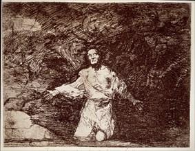 Goya, Desastres de guerre ( Prémonition triste de ce qui doit arriver )