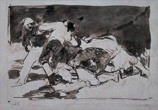 Goya, Les désastres de la guerre n°21