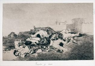 Goya, Desastres de Guerre: Autant et encore davantage