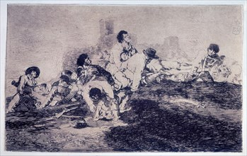 Goya, Désastres de Guerre ( Ils pourront encore servir )
