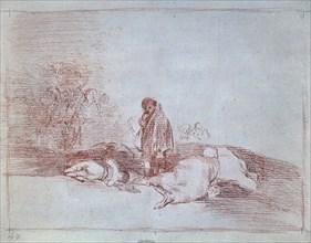 Goya, Il n'y a personne pour le secourir