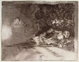 Goya, Désastres de Guerre N° 69: