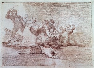 Goya, dessin