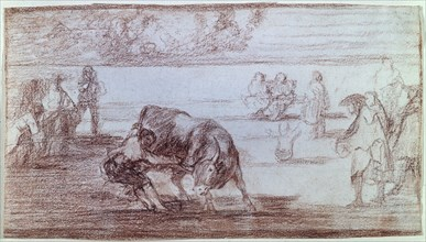 Goya, Tauromachie