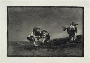 Goya, La Tauromachie