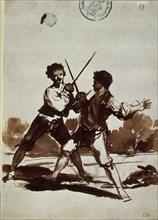 Goya, Défi...en garde