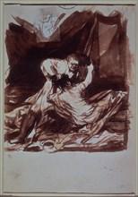 Goya, Lutte conjugale