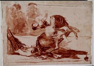 Goya, Le cheval ravisseur