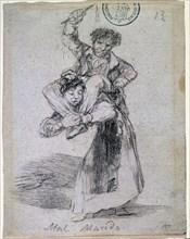 Goya, Mal marié