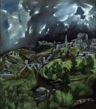 Le Greco, Vue de Tolède