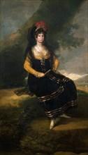 Goya, Portrait de la Comtesse de Fernán Núñez