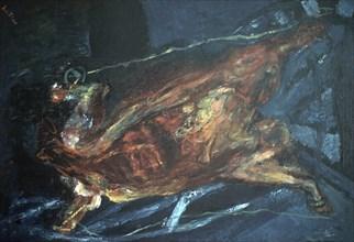 Chagall, Bête ouverte de haut en bas