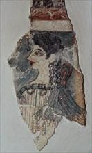 """Fresque représentant """"La Parisienne"""""""