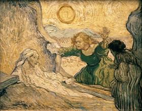 Van Gogh, La résurrection de Lazare