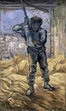 Van Gogh, Le Batteur de Blé