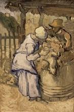 Van Gogh, Les Tondeurs de moutons