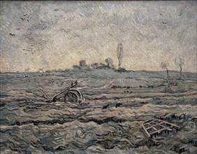 Van Gogh, La Charrue et la Herse