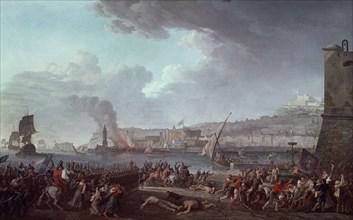 Taurel, Entrée dans Naples de l'armée Française commandée par le général Championnet le 21 janvier 1799