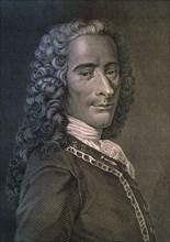 Portrait de Voltaire