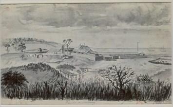 Cardero, Prison de Monterrey (Californie), septembre 1791