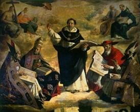 Zurbaran, Apothéose de Saint Thomas d'Aquin
