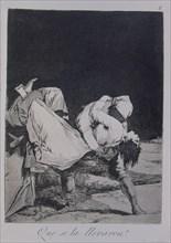 Goya, Caprice 8: Ils l'ont enlevée!