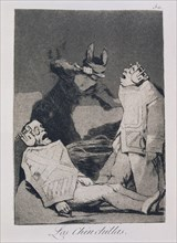 Goya, Caprice 50: Les Chinchillas