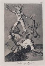 Goya, Caprice 56: Apogée et chute