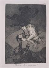 Goya, Caprice 62: Qui l'aurait cru!