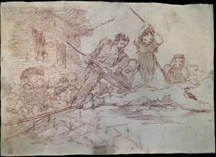 Goya, Désastre 28 (Populace)