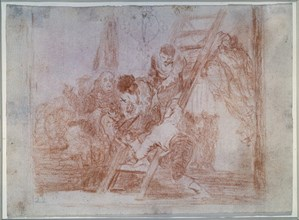 Goya, Difficile est le passage