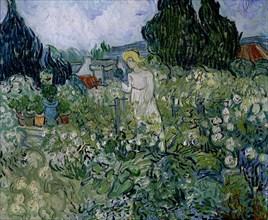 Van Gogh, Mademoiselle Gachet dans son jardin à Auvers-sur-Oise