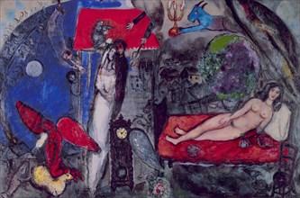 Chagall, A ma femme