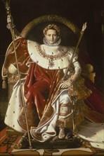 Ingres, Napoléon Ier sur le trône impérial