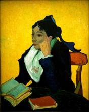 Van Gogh, L'Arlésienne : portrait de Madame Ginoux (1848-1911)