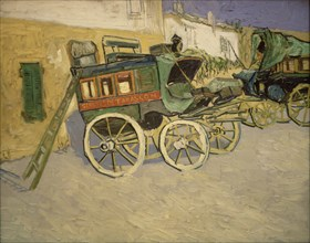 Van Gogh, La Diligence de Tarascon