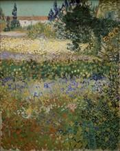 Van Gogh, Jardin en fleurs