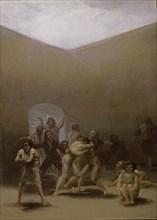 Goya, Le Préau des Fous