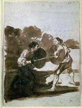 Goya, Duel à mort